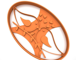 Cookie cutter - Little birds 3D printable model