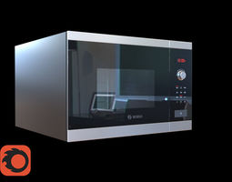 Bosch HMT75M654B 3D model