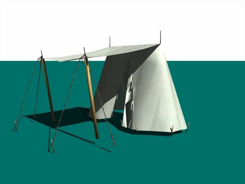 ... medieval wedge tent 3d model obj fbx dxf mtl 2 ...  sc 1 st  CGTrader & Medieval wedge tent 3D | CGTrader