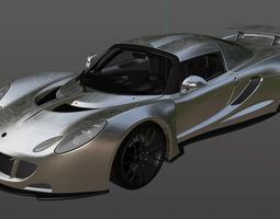 3D model Hennessey Venom GT 2012