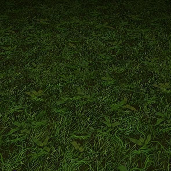 ground grass tile 17