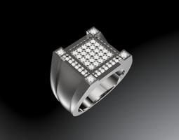 3D print model Mens ring