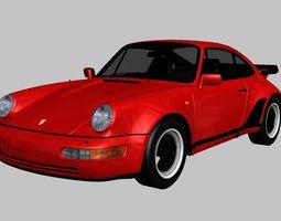 Porsche 911 Turbo 1982 3D asset