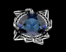 7 deadly sins lust ring 3D print model