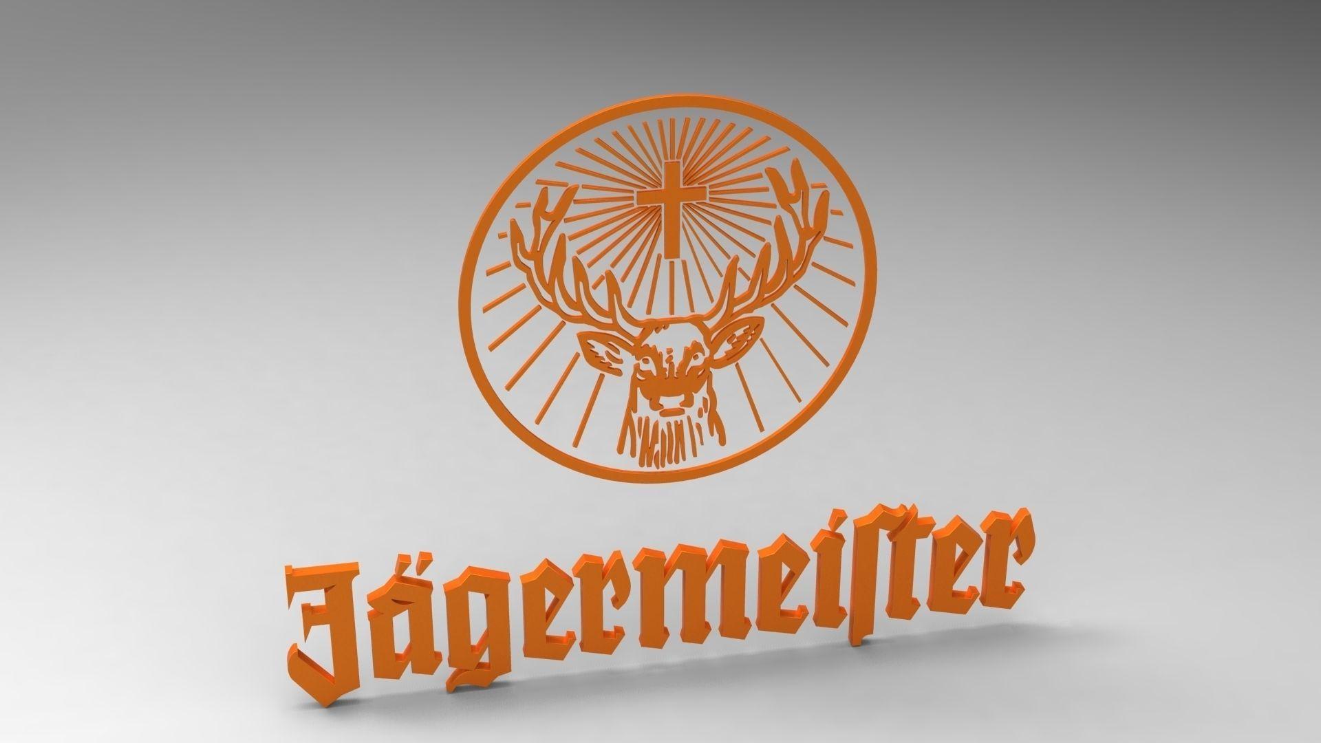 Jagermeister Logo 3d Model Skp Cgtrader Com