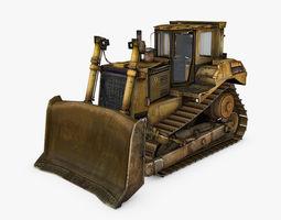 3D Bulldozer D9T