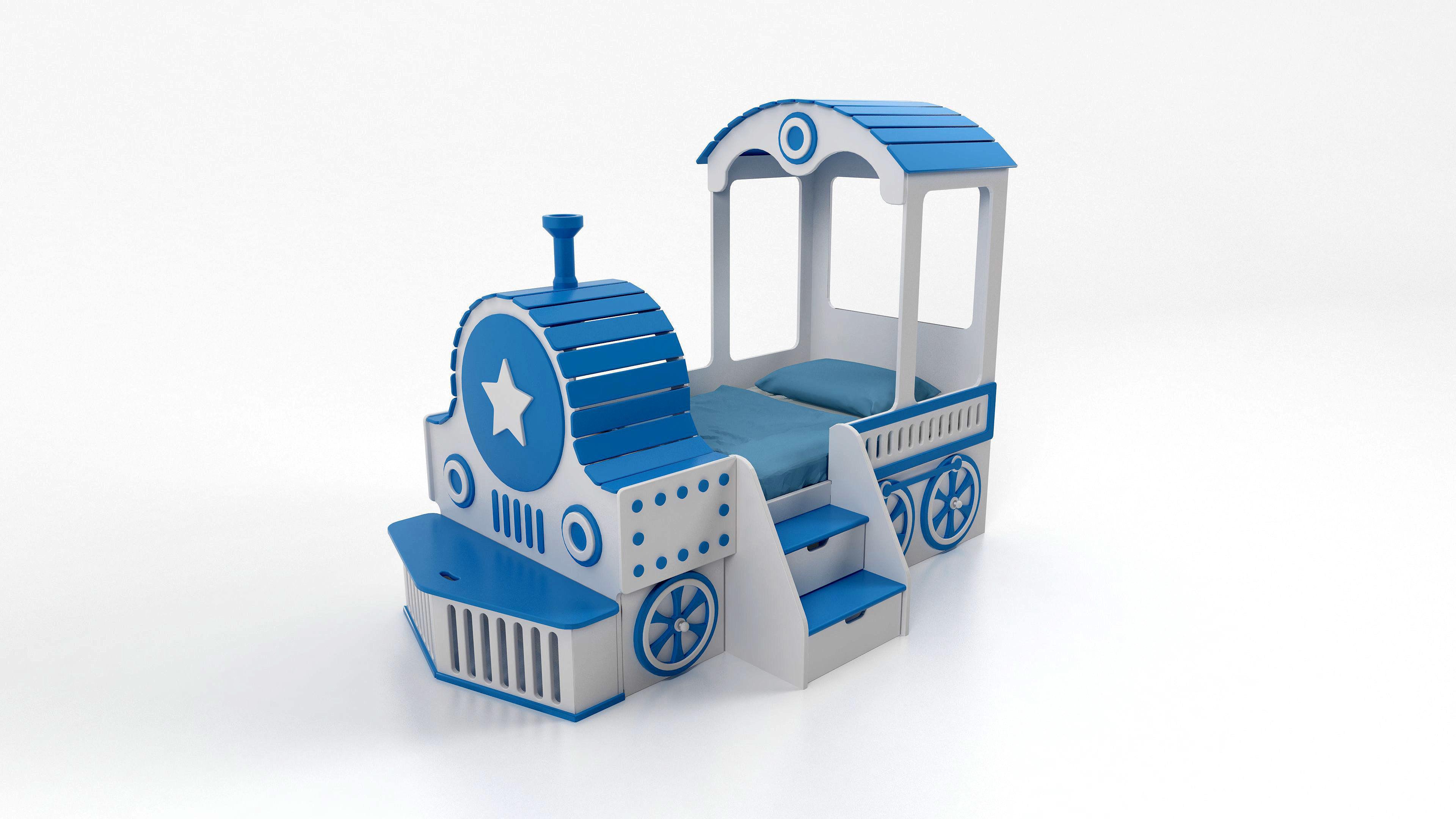 Bed for children Locomotive