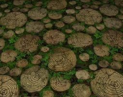 ground leaf tile 23 3D