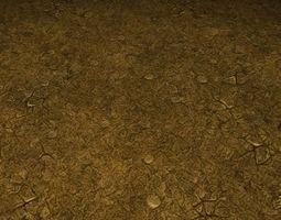 3D model ground soil tile 0