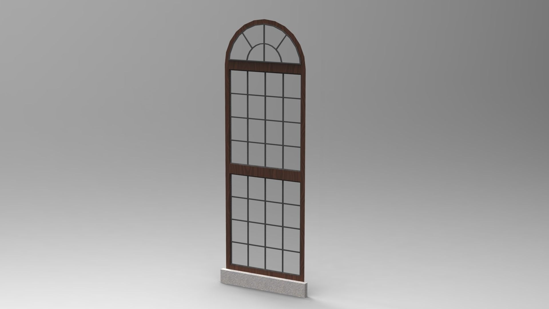Window design 3 3d model skp for Window 3d model
