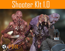 FPS Shooter Kit 3D asset