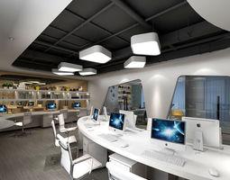 Office meeting room reception hall 56 3D model