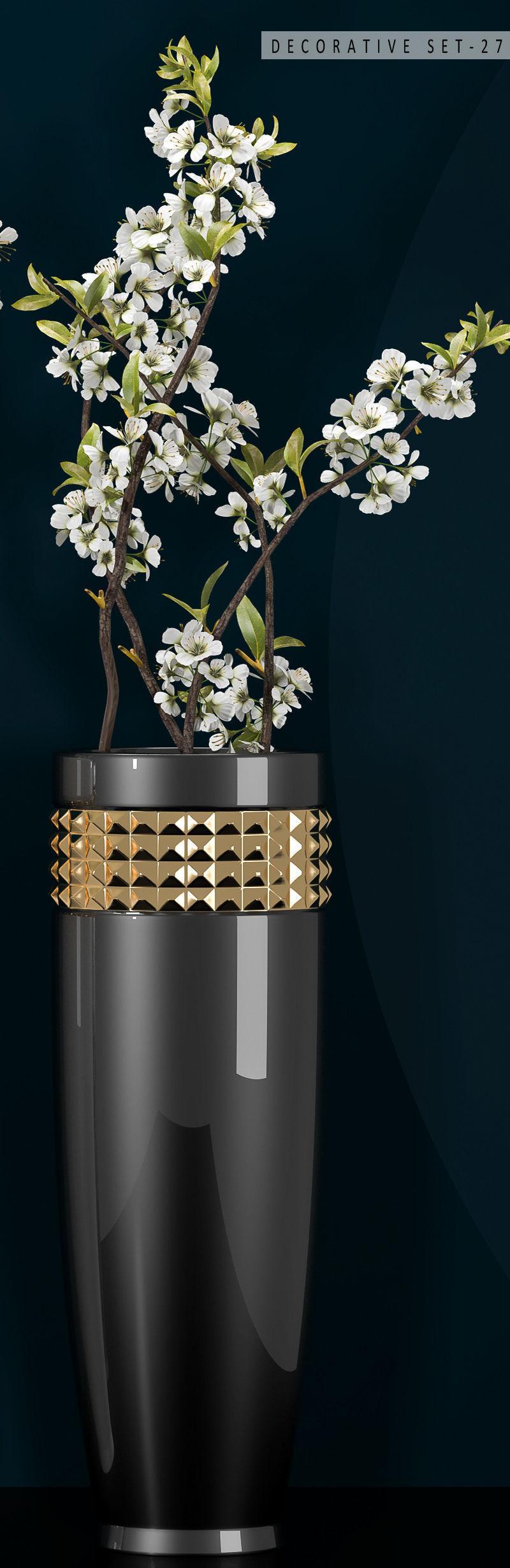 Decorative vase set 27 3d cgtrader decorative vase set 27 3d model max fbx unitypackage 5 reviewsmspy