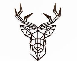 Deer Head Wall decoration 3D