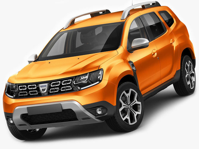 3d model dacia duster 2018 cgtrader. Black Bedroom Furniture Sets. Home Design Ideas