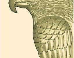 eagle 3d relief
