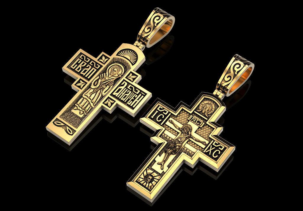 Cross Holy Apostle Andrew RU