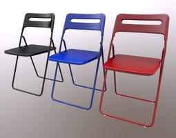 Ikea Chair Nisse 3D asset