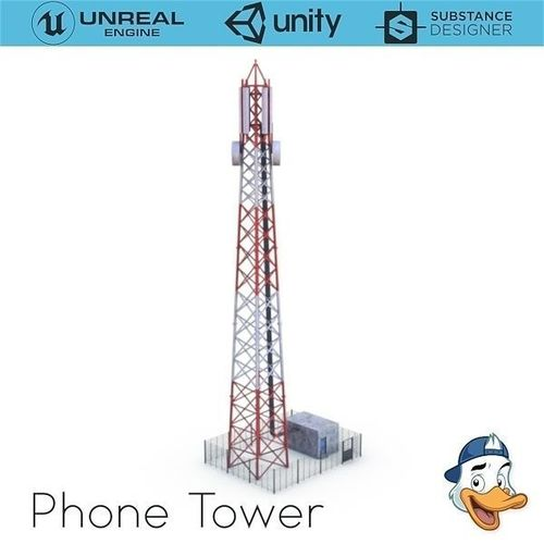 Cell phone Tower | 3D model