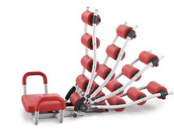 3D model Gym Trainer AB Rocket Twister - Rigged