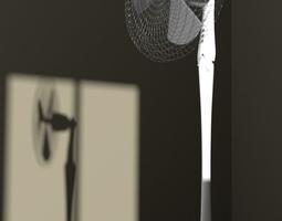 3D model Standing fan design