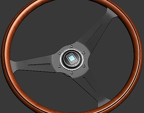 3D model Nardi Torino - Wood Steering wheel