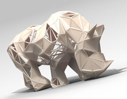 Rhino Lattice 3D printable model