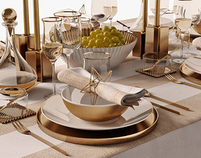 table setting 05 3D