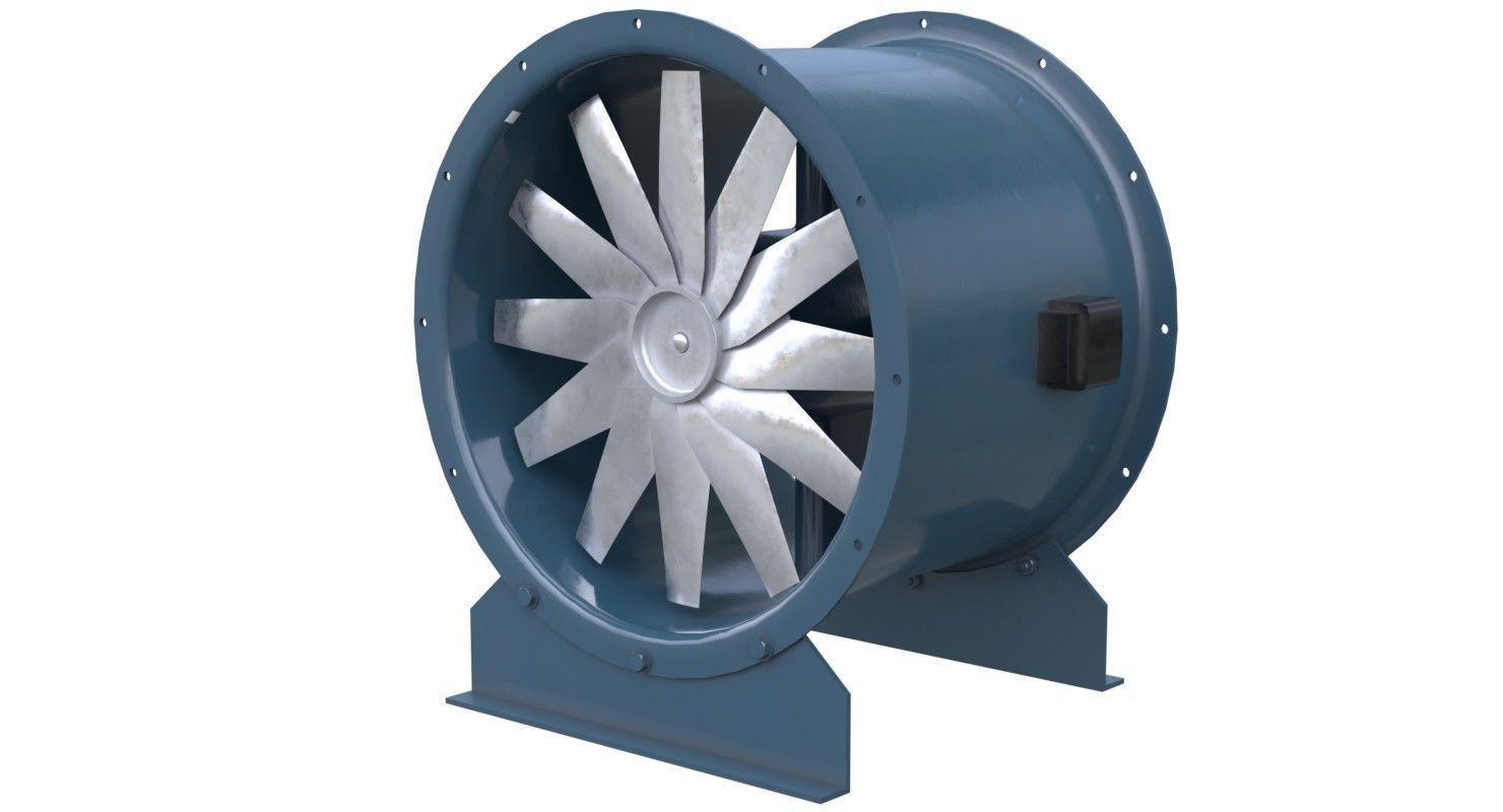 Axial Flow Fan 2 New