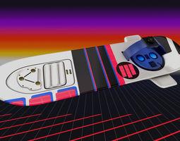 3D model Power Shock Hoverboard vehicle