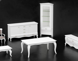 3D model Dall Agnese furniture set