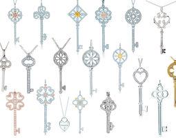 Tiffany keys Big Set 3D printable model