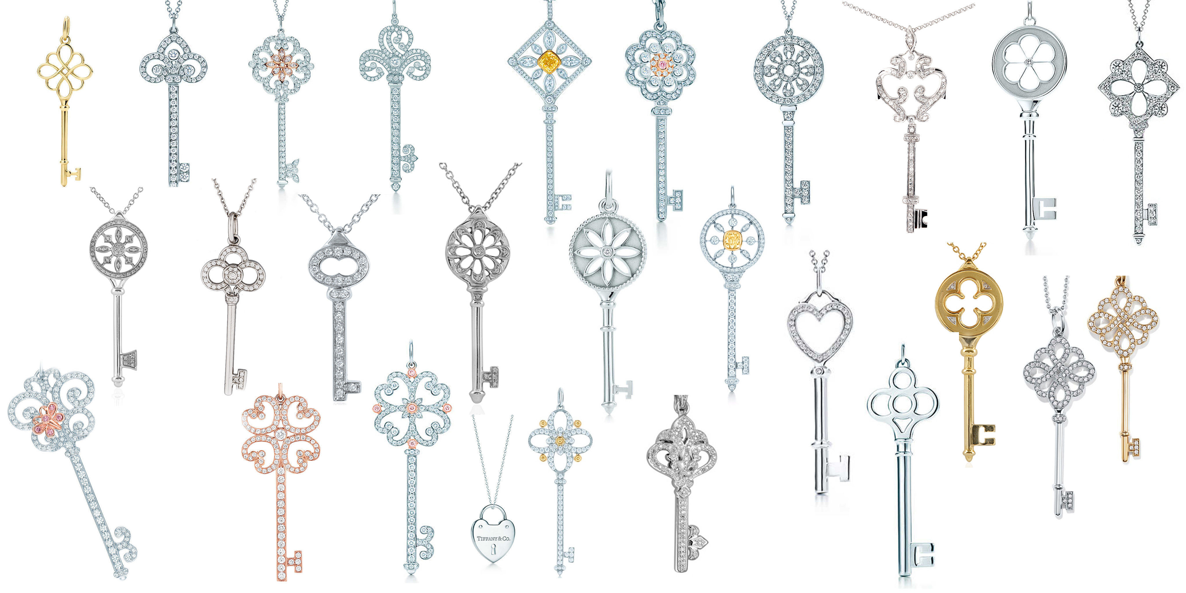photograph about Printable Keys referred to as Tiffany keys Massive Established 3D Print Design and style