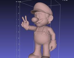 mario 3D print model art