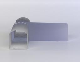3d model low-poly double basement