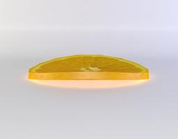 lemon slice 3d asset VR / AR ready