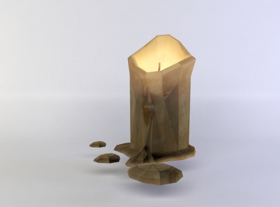 Candle | 3D model