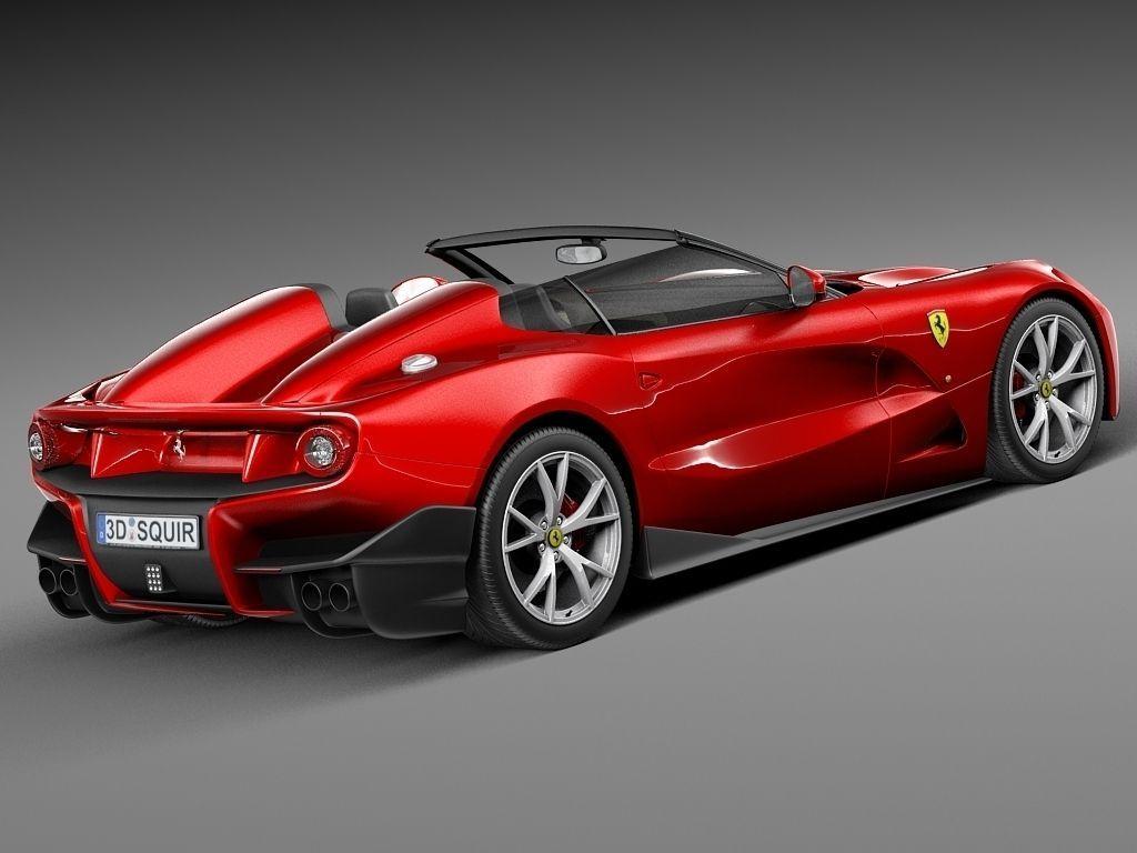 Ferrari F12 Trs Roadster 2014 3d Model Max Obj 3ds