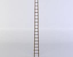 3d asset low-poly ladder