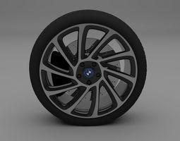 3d model bmw i8 wheel