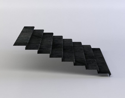 3d model stairs VR / AR ready