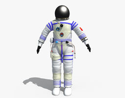 3D model Chinese Space Suit