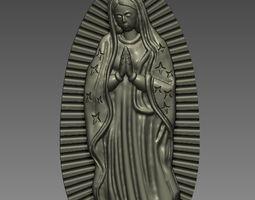 Virgin of Guadalupe 3D printable model