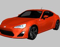 Scion FR-S 2013 3D model