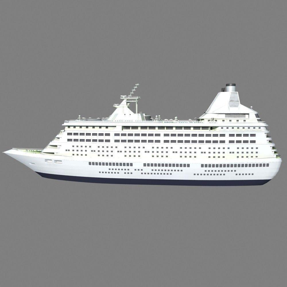 Cruise Ship 3D Model Max  CGTrader