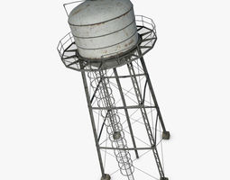 Water Tower wild 3D