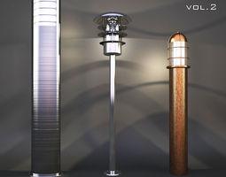 3D model Street light vol 2