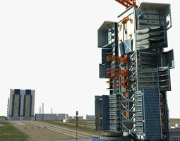 3D Jiuquan Satellite Launch Center