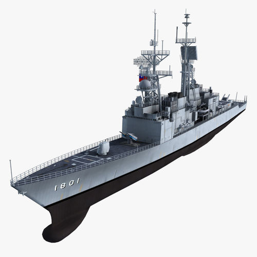KeeLung Class Destroyer3D model