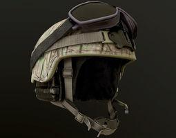 3D model Military Helmet PBR